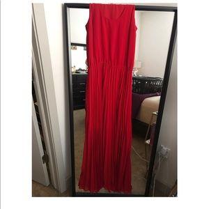 Red Michael Kors Floor Length Dress!